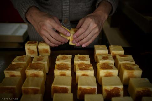 Cube omelet