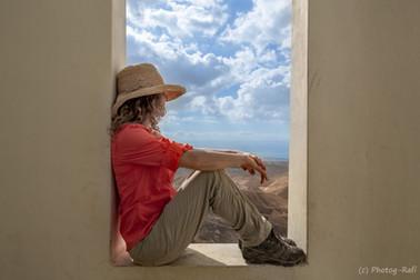 Window to the Dead Sea, Israel