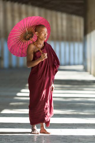 Young Burmese priest