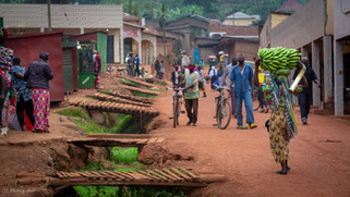 African street, Rwanda