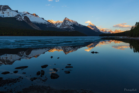 Maligne Lake, AL, Canada