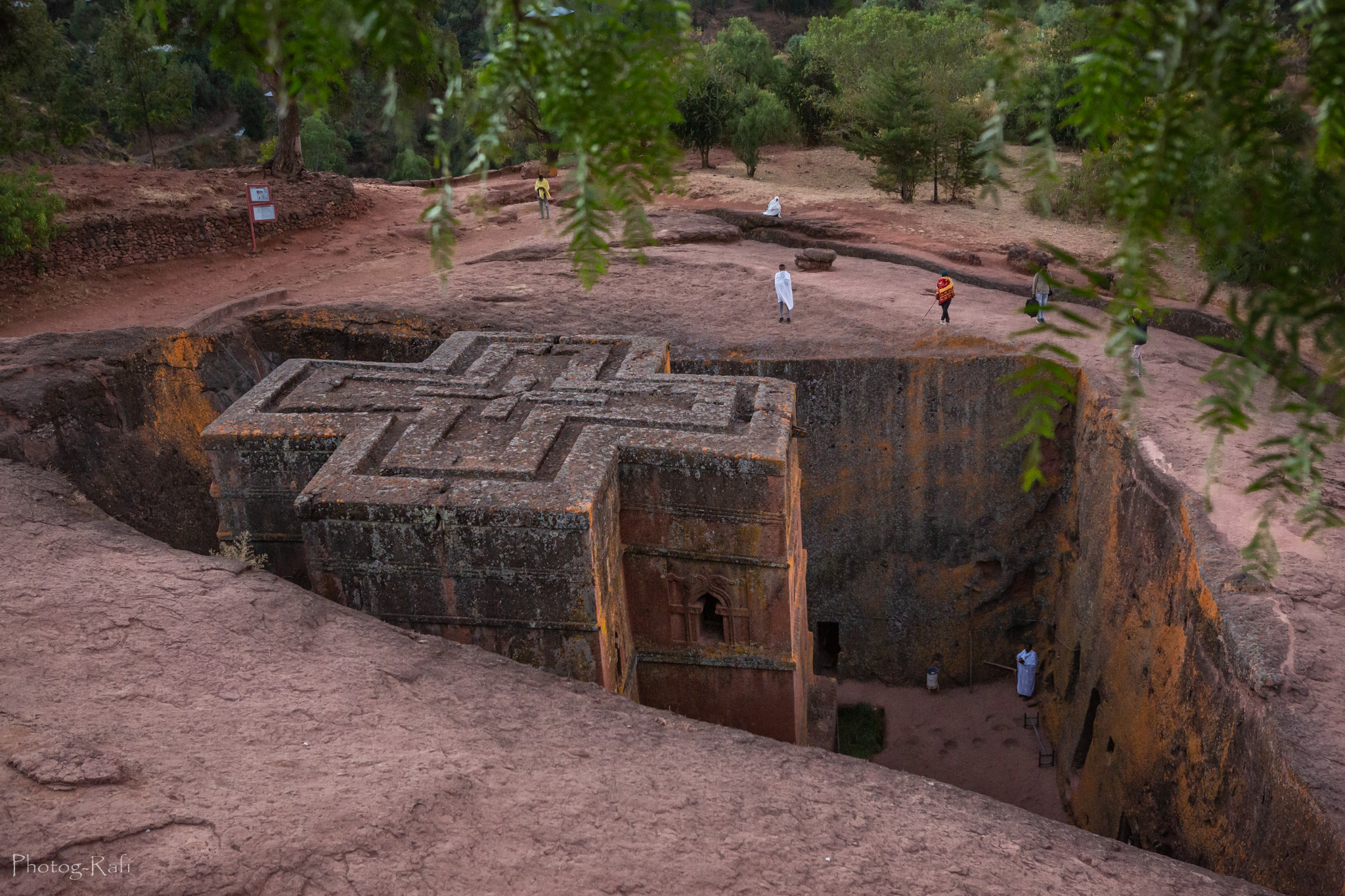 St George church Lalibela, Ethiopia