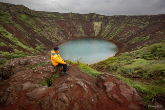 Kerid Crater, Iceland