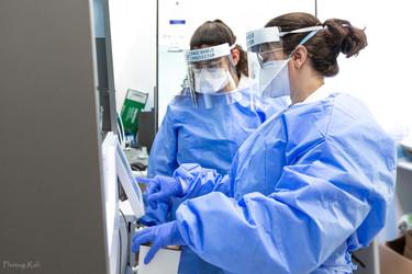Covid 19 - laboratory