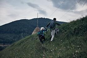 Пара походы с собакой