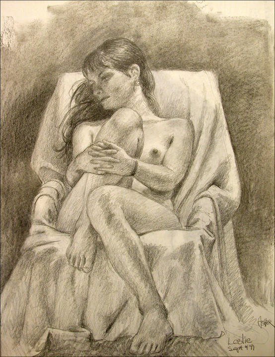 CHARCOAL DRAWING 5