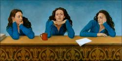 THREE WOMEN 24x48 (sold)