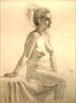 CHARCOAL DRAWING 8