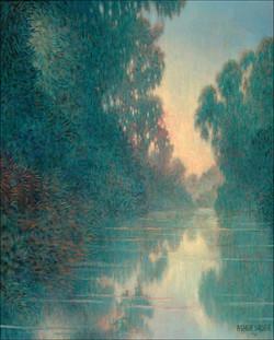 LAKE REFLECTIONS 24 X18