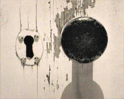 KEYHOLE AND DOORKNOB