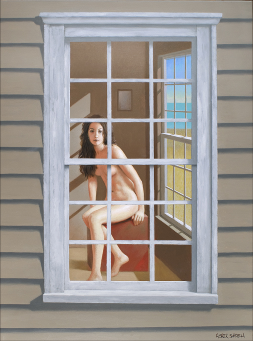 THROUGH A WINDOW 40X30