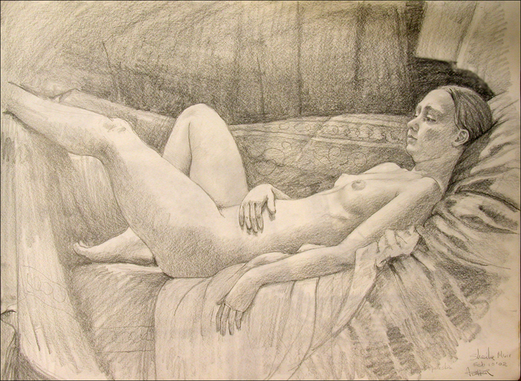 CHARCOAL DRAWING 6