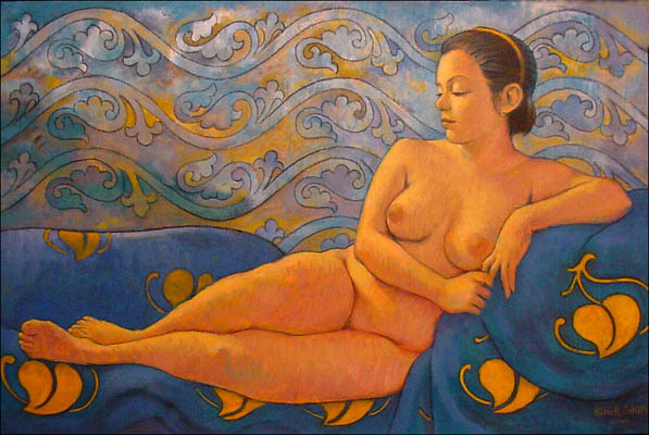 EXOTIC NUDE 24X36