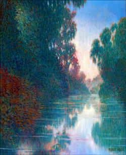 LAKE REFLECTIONS 30X24