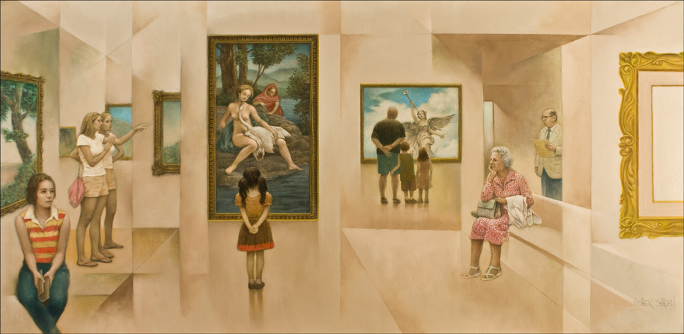 IN THE MUSEUM 30X60