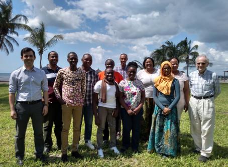 Training in Dar-es-salaam (Tanzania)