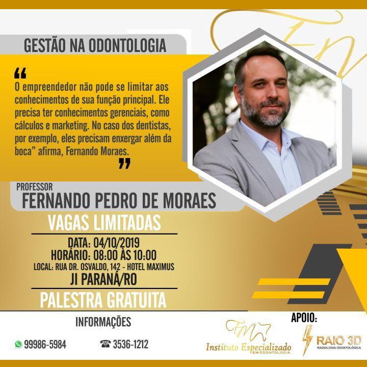GESTÃO NA ODONTOLOGIA - JI PARANÁ/RO