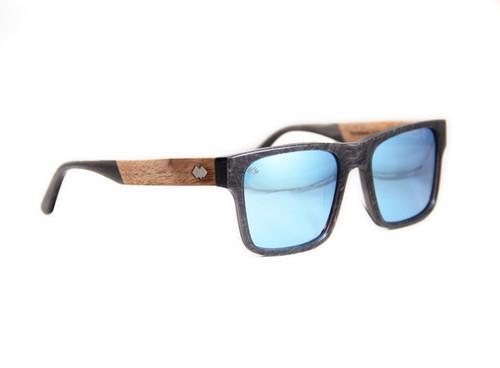 b2c214d31c1 Timber Line - DB Series - Graphite - Blue Mirror Lens