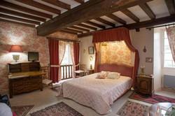 Chateau de la Roque Bedroom