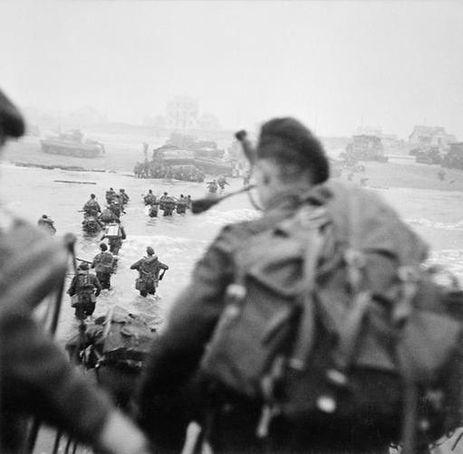 British Commandos Sword Beach 6 June 194