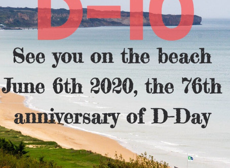 Countdown to D-Day : ten days to the 76th anniversary