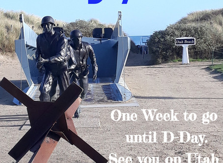 Countdown to D-Day - one week to go!