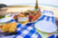 Seafood picnic at Granville
