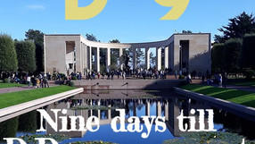 Countdown to D-Day : nine days to go - see you at the cemetery?