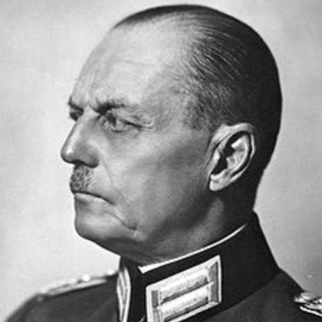 Generalfeldmarschall Karl Rudolf Gerd von Rundstedt