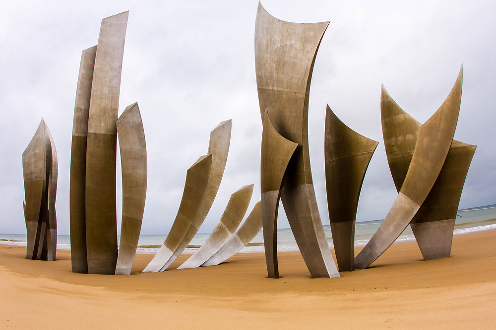 'The Brave Ones' Monument, Omaha Beach