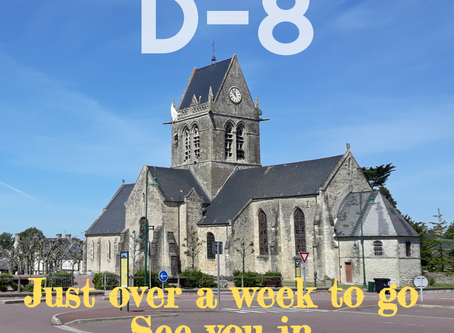 Countdown to D-Day - eight days to go