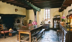 Colombieres Medieval Kitchen