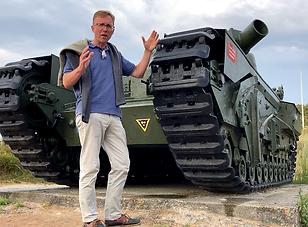 AVRE tank Juno Beach