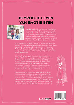 Boek Joan Bieger Bevrijd van Emotie Eten