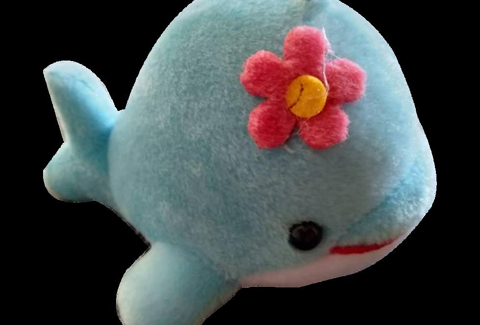 Multiple Colour Whale Soft Toys