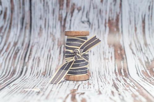 grey vintage style ribbon