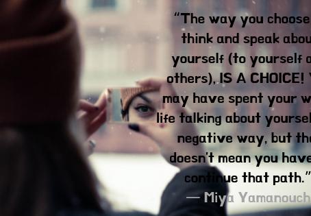 Negative Self Talk Be Gone!