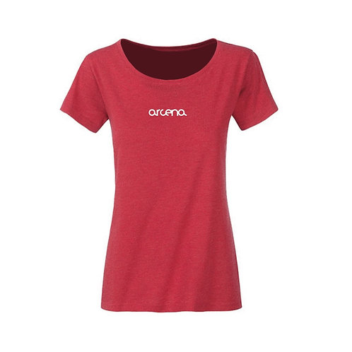 Summer 19 tee - Women Red