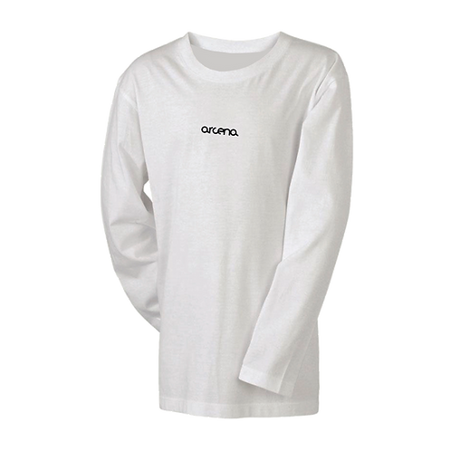 classic white tee long-sleeve