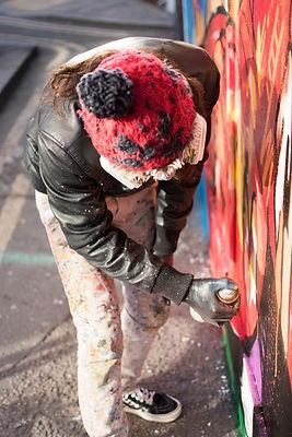decolife paining graffiti london streetart art