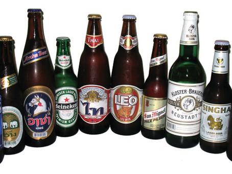 Les bières en Thaïlande