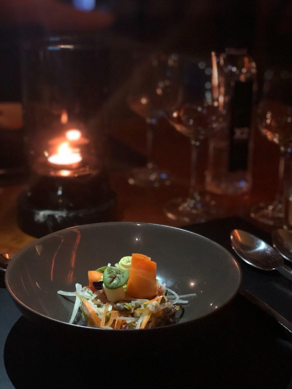 Plat gastronomique Koh Samui