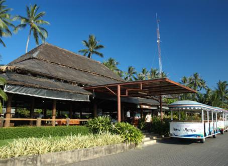 L'aéroport international et tropical de l'île fantastique !