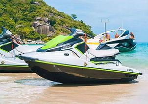 Jet Ski-plage-excursion-Koh Samui