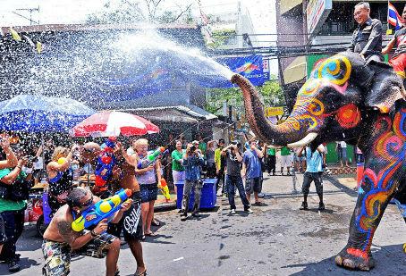 Songkran: Bonne année 2561 !