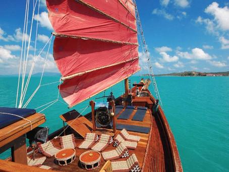 Naviguez en jonque traditionnelle au départ de Koh Samui !
