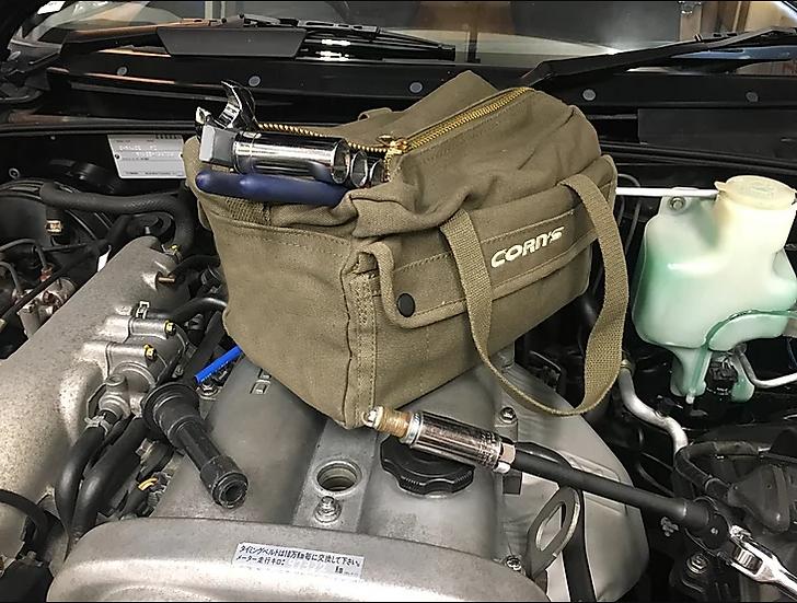 Corn's Heavy Duty Roadster Tool Bag Olive Drab Pre-Order