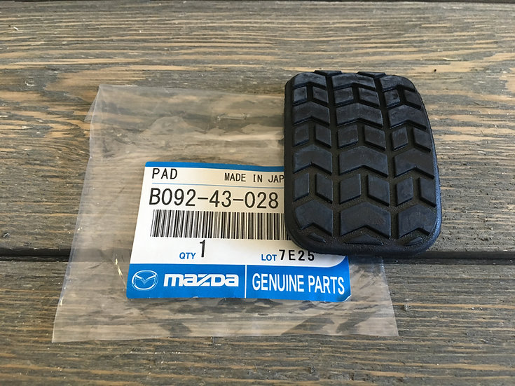 Genuine Mazda Pedal Pads Clutch or Brake