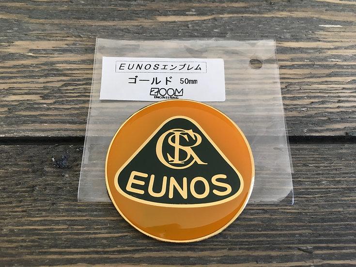 Gold Zoom Engineering 50mm Metal Badge