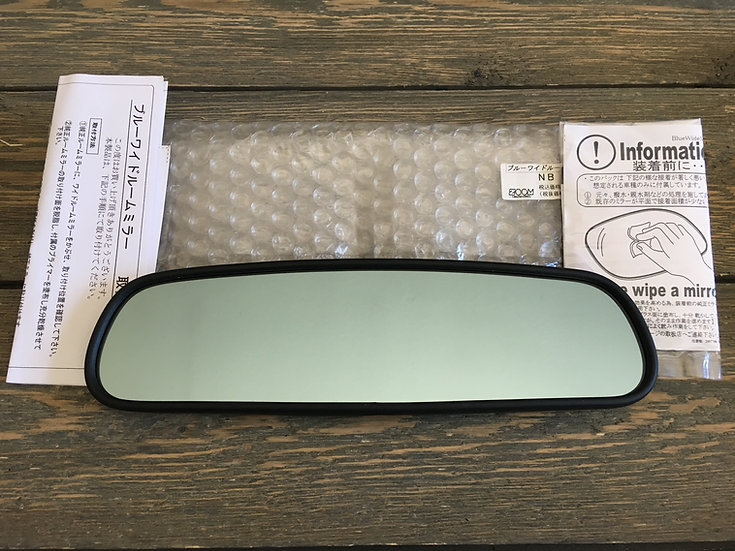 Zoom Engineering NB Blue Tinted Convexed Wide View Mirror
